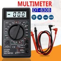 2 Color LCD Digital Multimeter AC/DC 750/1000V Digital Mini Multimeter probe For Voltmeter Ammeter Ohm Tester Meter Gauge