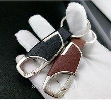 Porte-clés en cuir pour Ford mondeo kuga fiesta   Porte-clés de voiture en métal, outil multifonctionnel, porte-clé pour Ford mondeo kuga fiesta focus 2 3 ecosport