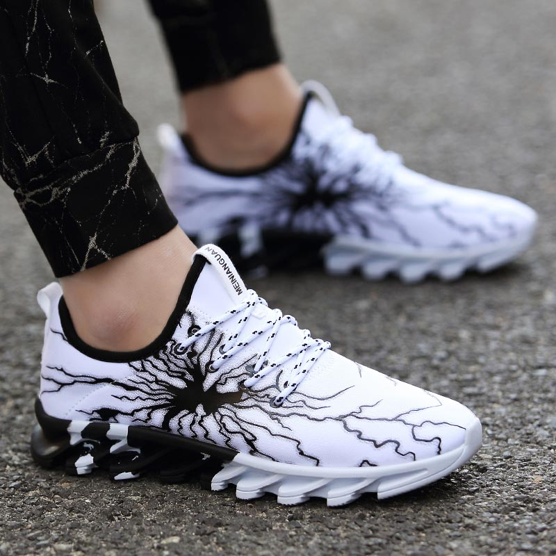 Мужские и женские кроссовки Hundunsnake, белые кроссовки для бега, A-187