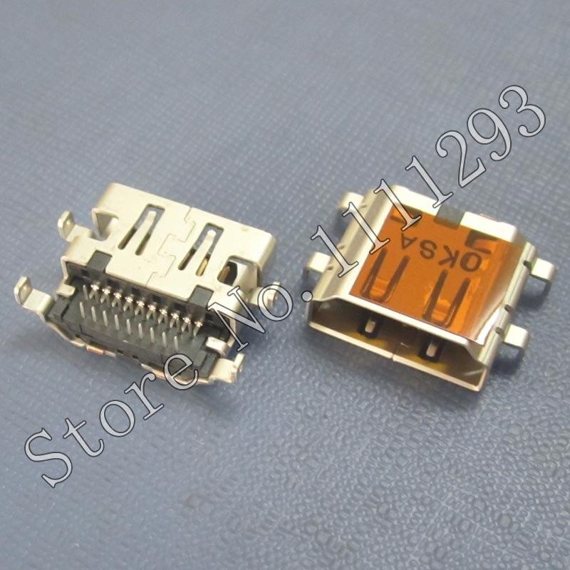 Разъем HDMI для Acer Aspire V5-572, 10 шт./лот, разъем HDMI для Toshiba Satellite L600 L635 L650 L655 U800W U845W, HDMI порт