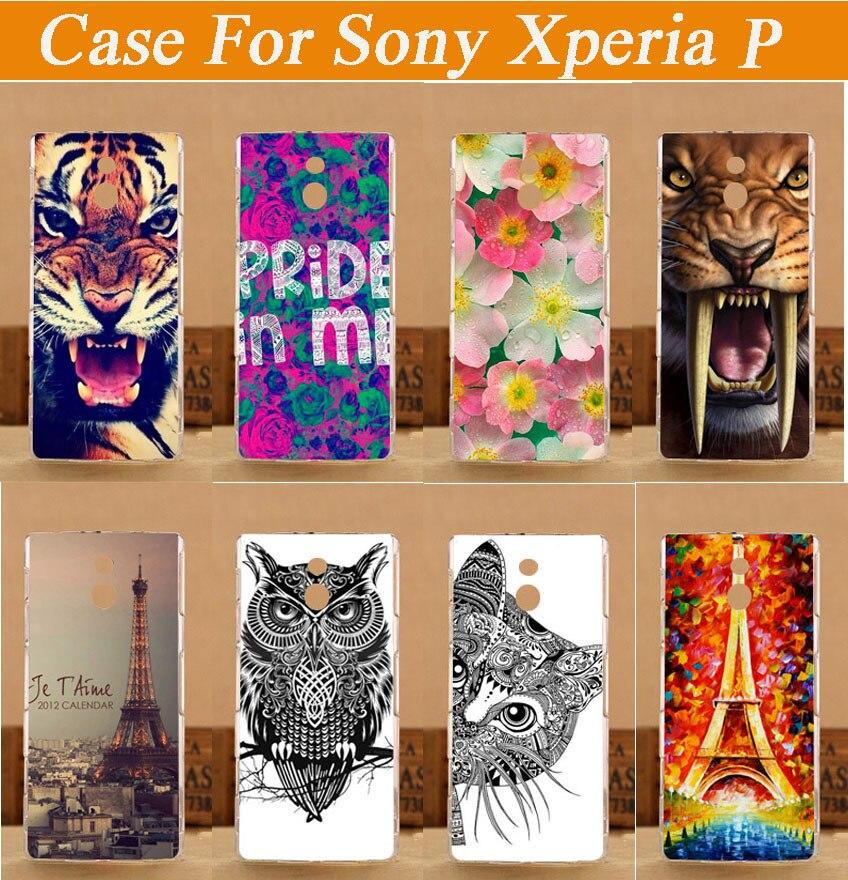 Funda trasera de plástico duro con pintura en caliente para Sony Xperia...