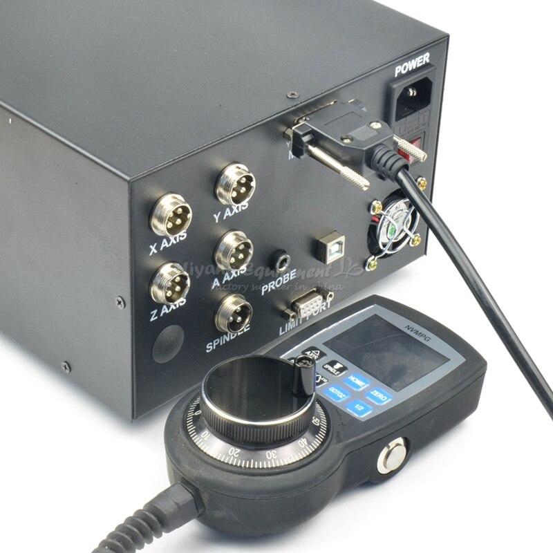 CNC engraving machine control box MACH3 USB interface NCB02 with digital handwheel controller