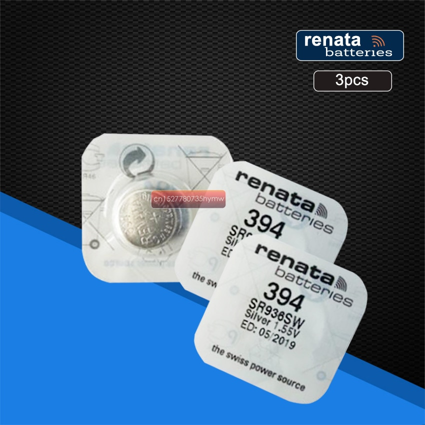 3 пакета renata 394 SR936SW AG9 Кнопка батарея для ремонт часов инструменты батареи