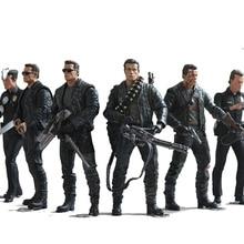 NECA le Terminator 2 figurine T-800 endosquelette figurine classique jouet 7