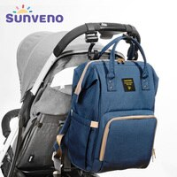 Sunveno Maternity Bag For Baby Travel Backpack Maternity Design Nursing Diaper Bag Brand Large Capacity Baby Bag Baby Care