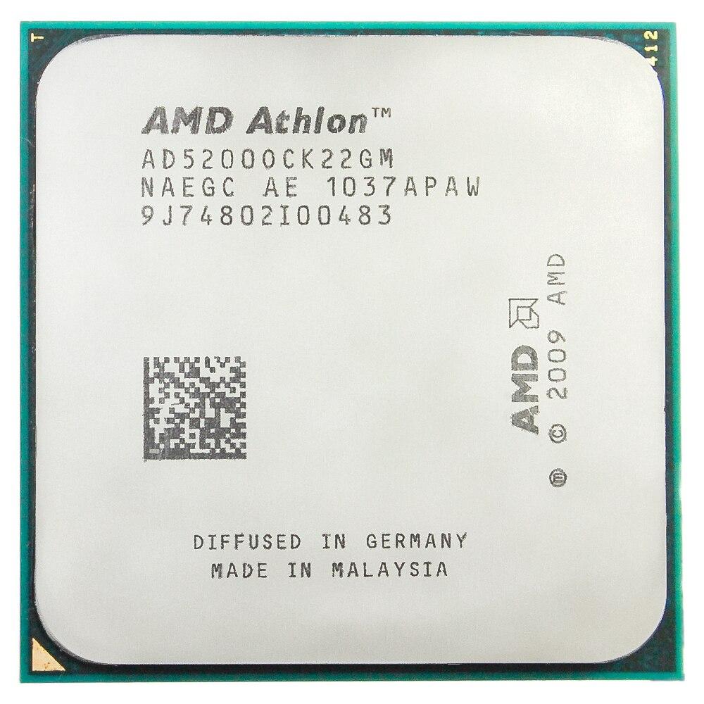 AMD Athlon X2 5200 + CPU (procesador de 2,3 Ghz/1M/65W) AM2 +...