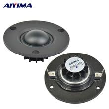 AIYIMA 2 Pcs 2,5 Zoll Mini Audio Tragbare Hochtöner Lautsprecher 25 Core 6 8 Ohm 15 W Seide Film Fieber hifi Lautsprecher Für Heimkino