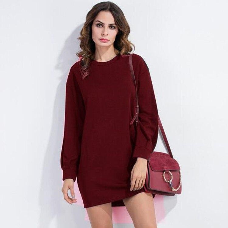 Mujeres OL Chiffon Derss manga larga vestidos de otoño mujeres nuevo vestido de fiesta vestidos sexis damas Ruffle ceñido vestido Puff ropa
