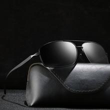 Men's Polarized Sunglasses Fashionable Eyes Glasses Male Female Square Sun Glasses Driving 2019 Ladies Luxury Brand Designer