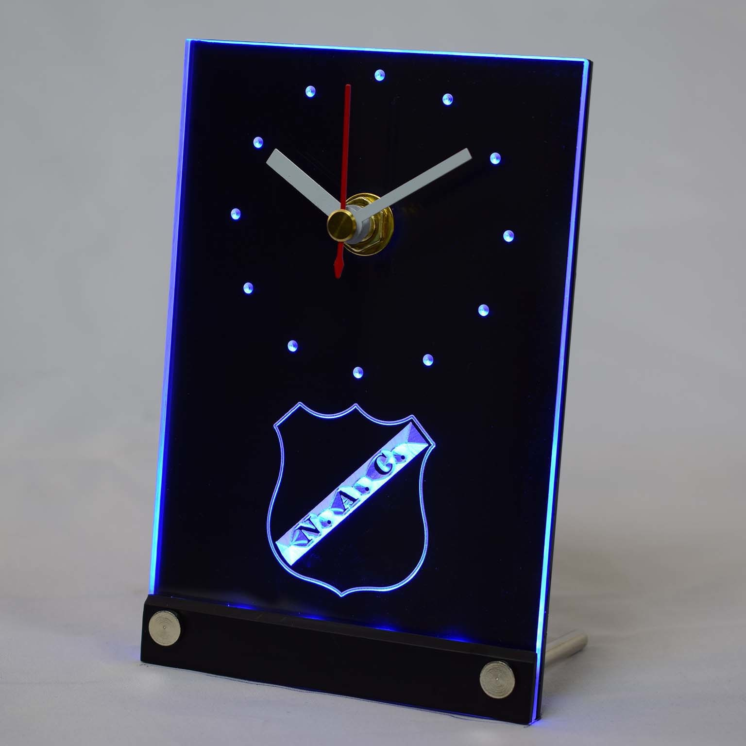 tnc1016 NAC Breda Rat Verlegh Stadium Eredivisie 3D LED Table Desk Clock