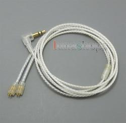 С наушником Крюк Посеребренная кабель для ultimate ears UE TF10 SF3 SF5 5EB 5pro TripleFi 15vm TF15 LN005014