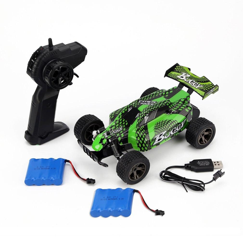 DEER MAN 118 Vehículo de campo cruzado 20 KM/H 2 baterías Modelo de Control remoto vehículo todoterreno juguete 2,4 GHz coche de