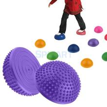 Hérisson Style Balance Pod-gonflé stabilité Wobble coussin-exercice Fitness noyau Balance disque pour enfants adultes jouets de plein air