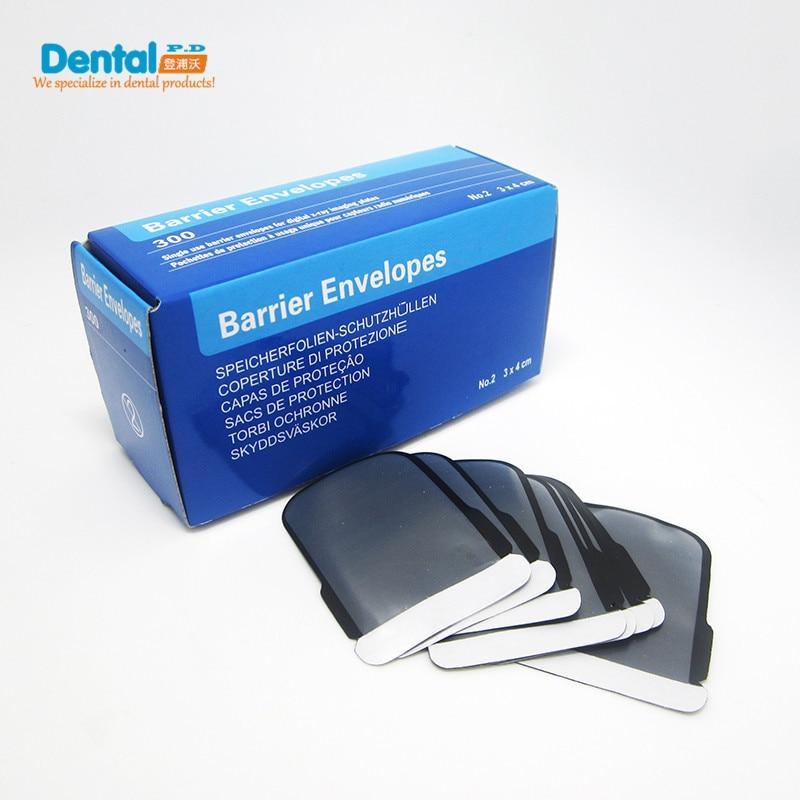 Dental Barrier Film X-Ray Film Bag 2#(31X41mm) dental x ray complete film positioning system positioner holders locator