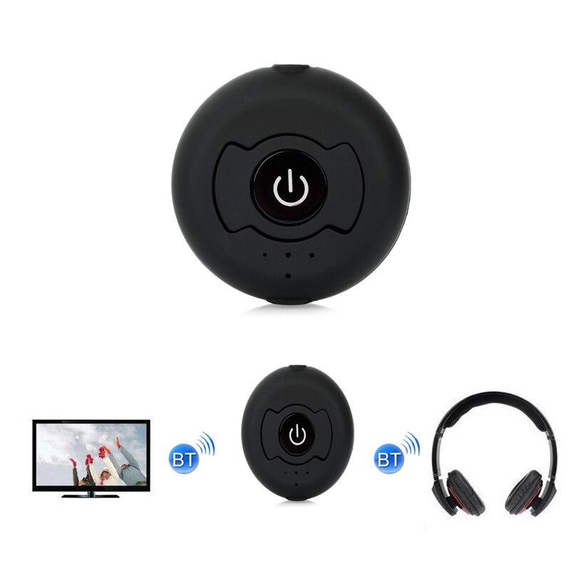 Multi-Punto de 3,5mm Bluetooth transmisor inalámbrico Bluetooth de Audio de música estéreo Transmite Dongle del adaptador para PC TV Tablet MP3