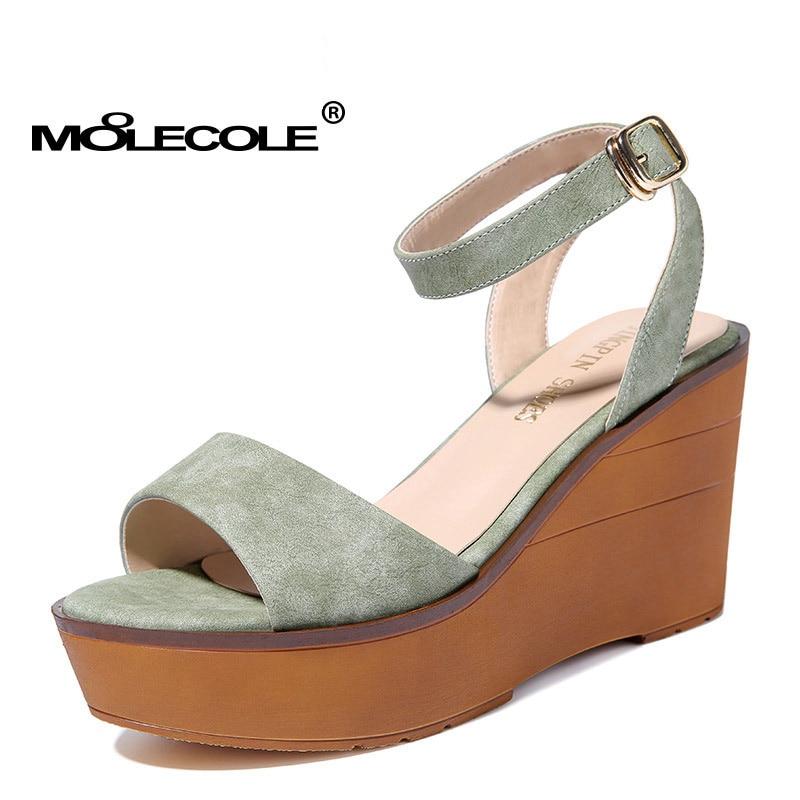 MOOLECOLE, sandalias tradicionales de Color puro para mujer, zapatos para mujer, zapatos de oficina para mujer, zapatos de tacón alto de 9,5 CM, tamaño EUR35-39, modelo 70138