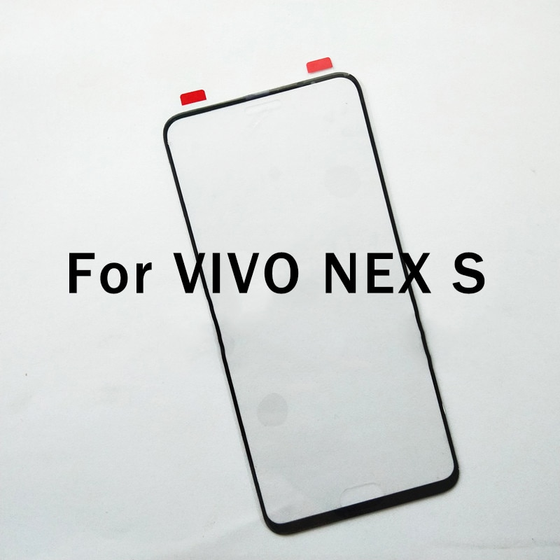 For VIVO NEX S Mobile Phone Front Touchscreen For VIVO NEXS Touch Screen Glass Digitizer Panel Touch