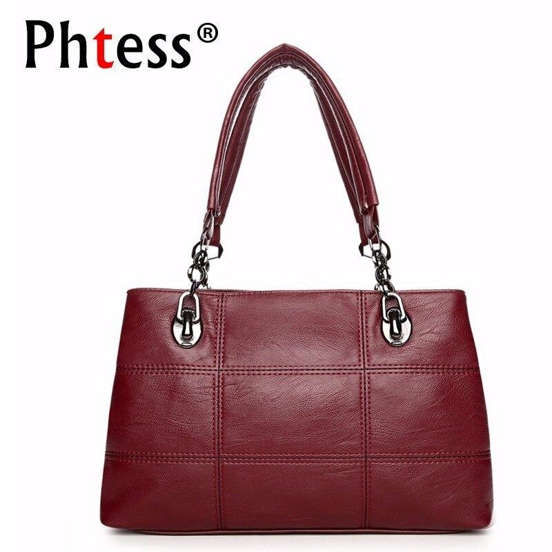 2019 Luxury Handbags Women Bags Designer Plaid Crossbody Shoulder Bag Female Sac A Main Vintage Tote Bag For Girl Bolsa Feminina