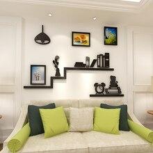 Creative photo frame bookshelf Acrylic 3D wall sticker dining-room sofa bedroom TV background wall decoration sticke