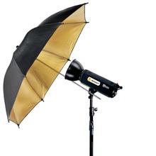 Neewer 1 pcs 33 inch/84cm photography Pro Studio Reflector Black&Gold diffuser Umbrella for Yongnuo/Godox Flash Studio Lighting