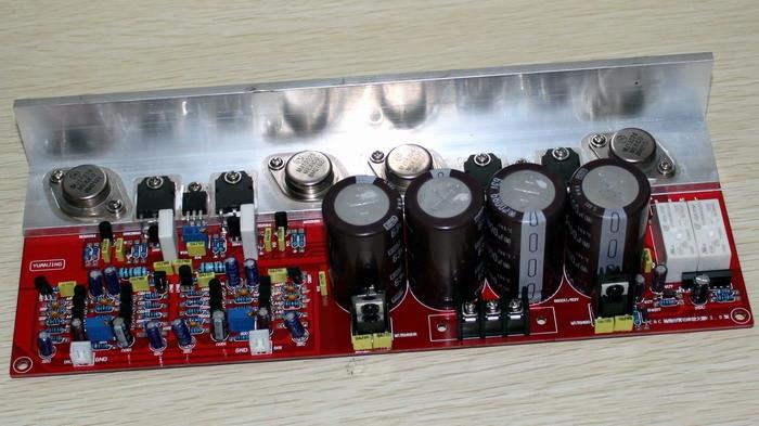 MOSFET (2SK2955,2SJ554) 2,0 (PMA-S1 имитация) Плата усилителя мощности 110W + 110W 150 Вт * 2