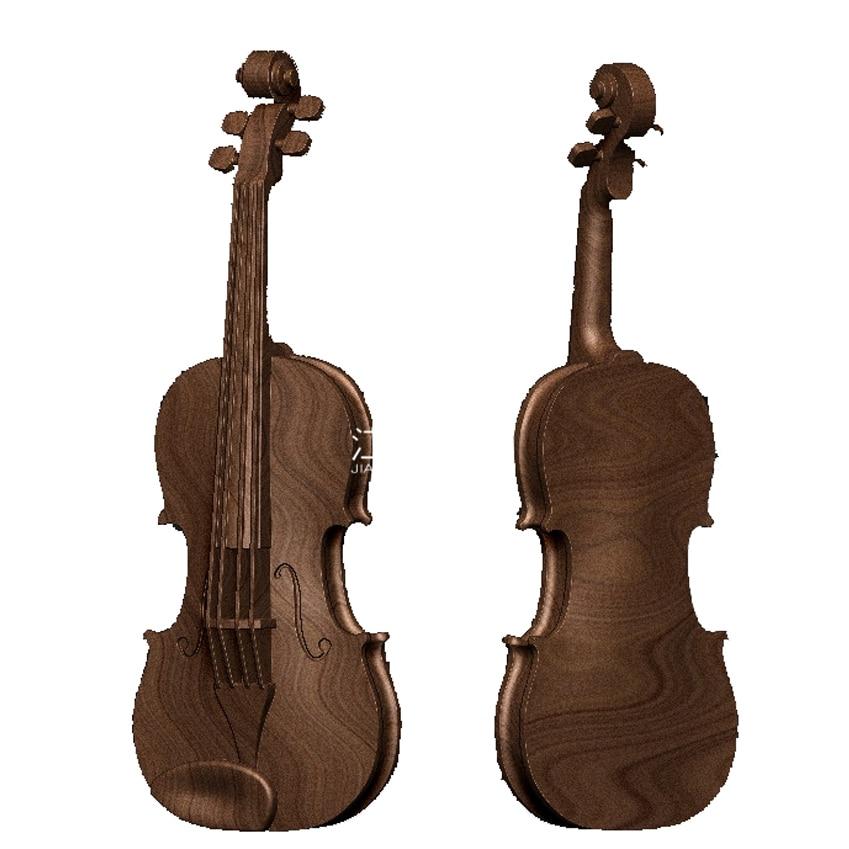 3d модель, рельеф для станка с ЧПУ в формате STL N25 скрипка