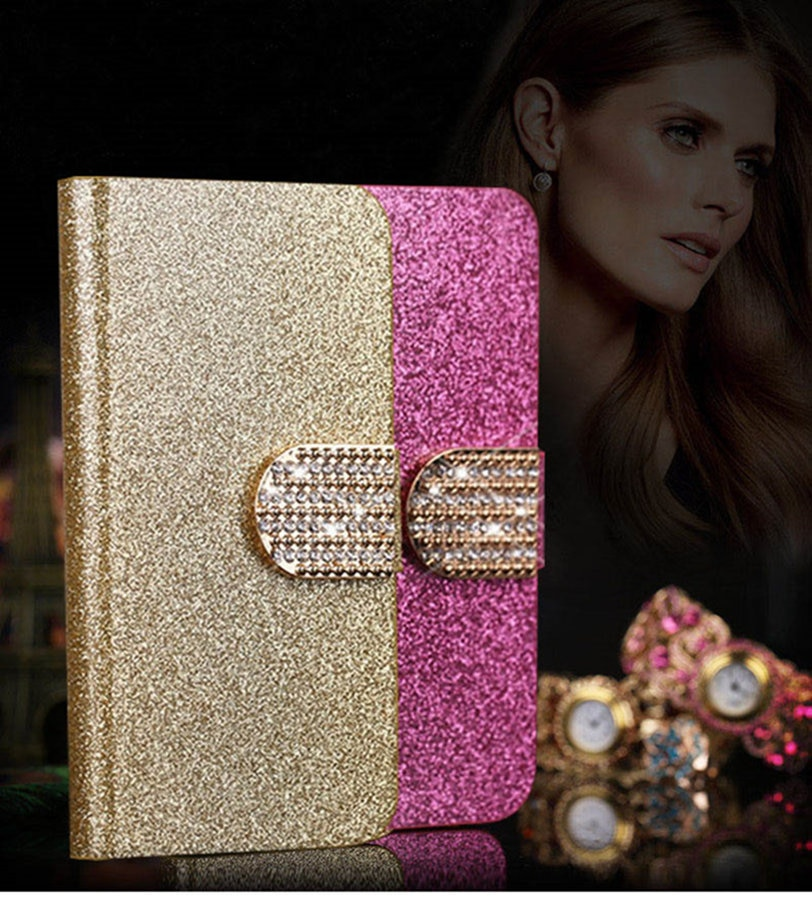 Nueva funda de lujo de gran oferta a la moda para Sony Xperia Z3 Compact/Z3 Mini cubierta Flip Book con diseño de cartera bolsa de teléfono móvil