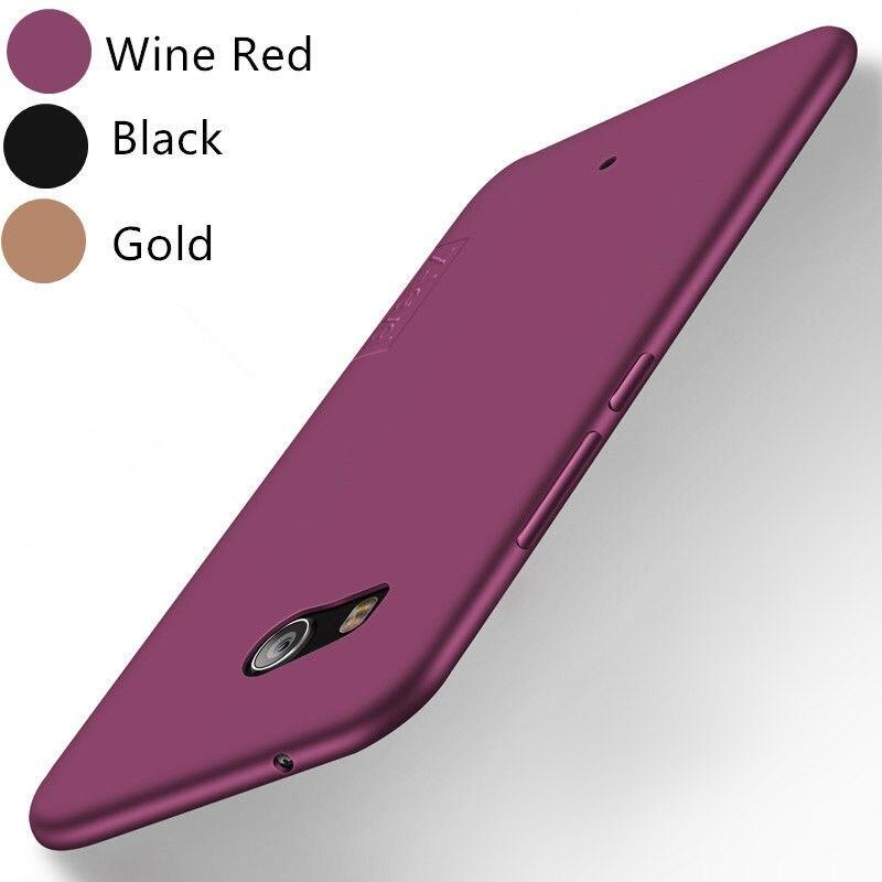 X-nivel suave TPU caso para HTC U11/U11 +/U Ultra U12 más deseo 12 Dual Ultra Slim cubierta trasera de silicona