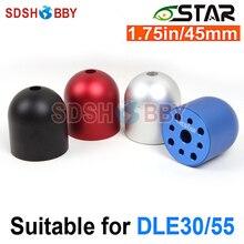 6 Starhobby 1.75in/45 Mm Aluminium Spinner Voor DLE30/55, DA50/EVO54, MLD35/70
