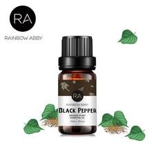 10ml Black Pepper Essential Oil Plant Massage Oil Black Pepper Aromatherapy Oil Help To Treat Skin Diseases Refresh Mind