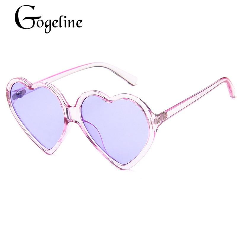 Love Heart Sunglasses Women 2020 Fashion cute sexy retro Cat Eye Vintage cheap Sun Glasses red purpl