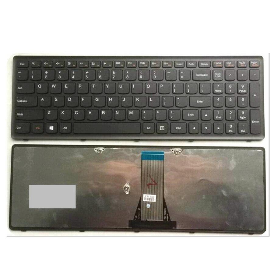 Nuevo teclado para LENOVO G500S G505S S500 Z510 Z505 teclado para ordenador portátil de EE. UU. (no apto para G500)
