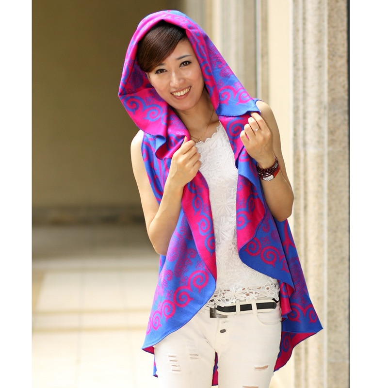 Positive and negative two to wear Pregnant Women Shawl Maternity wool cloak coat shawl female pregnant women enlarge
