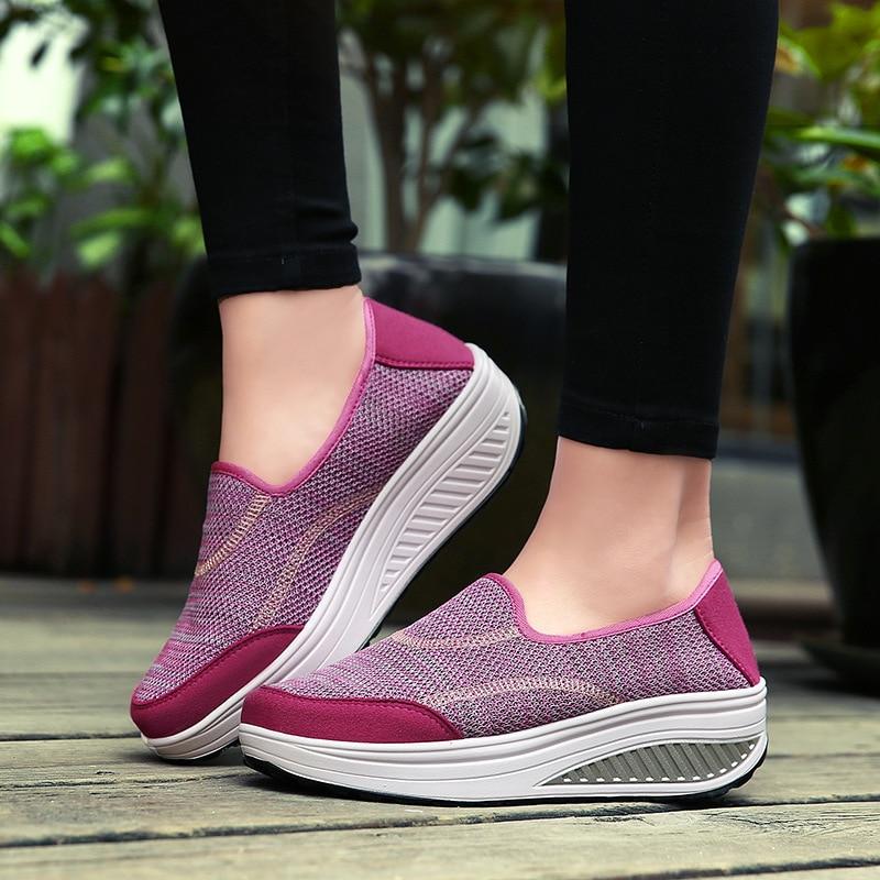 Baloncesto para mujer, zapatillas deportivas transpirables de malla para exteriores, ligeras, de...