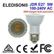 Ampoule à lumière LED JDR E27 5W 120V 230V 240V 50x75mm pour cuisinière domestique ampoule à hotte Dacor Zephyr