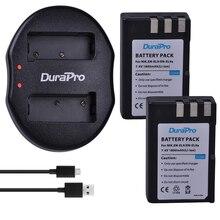 DuraPro 2 pièces 1800 mAh EN-EL9 EN EL9 ENEL9 batterie de caméra Rechargeable + USB double chargeur pour Nikon D40 D40X D60 D3000 D5000