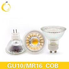 MUFAVA 12W Led-strahler cob Lampe 60 Winkel GU10 MR16 Dimmbare Led-lampen led licht AC 110-240V Glas körper led-lampen