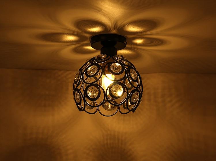 Lámparas de techo Vintage lámparas lustre Luminaria Abajur lámparas de techo iluminación...