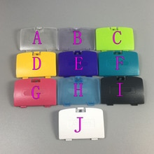 JCD 100 pièces pour jeu garçon couleur remplacement batterie couvercle couvercle porte pour CONSOLE système GBC