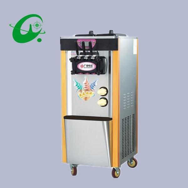 28-36L/H Sistema de PreEnfriamiento comercial máquina de helado Vertical 5.8L * 2L máquina de hacer helado máquina de yogurt