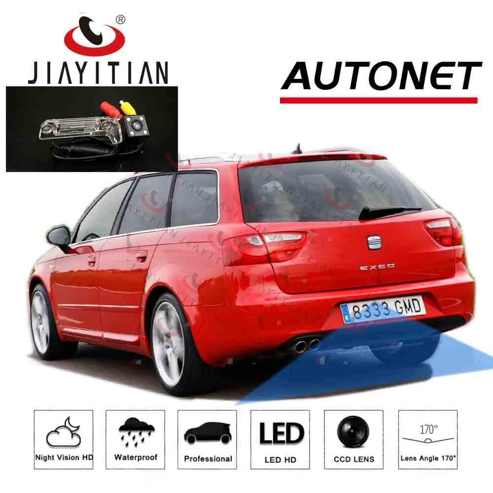 JIAYITIAN Rear View camera  For SEAT Exeo ST/Estate/sedan 2008~2013/CCD/Night Vision/Parking backup Camera/License Plate Camera
