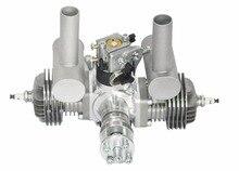 RCGF 40cc double cylindre essence/essence moteur double cylindre avec silencieux/allumage/bougie dallumage pour modèle davion RC