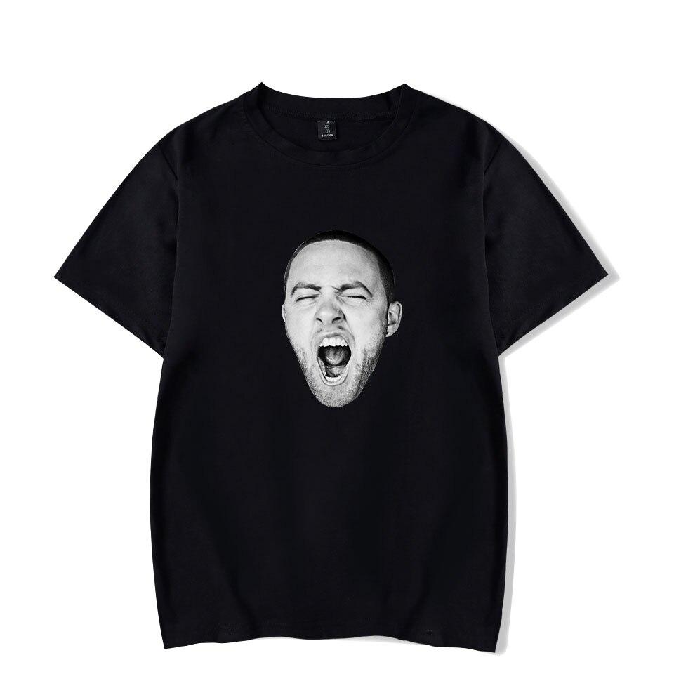 Divertente modo di MAC MILLER t-shirt stampate delle donne degli uomini di hip hop di sport t-shirt casual top tee shirt girocollo manica corta t-shirt a manica