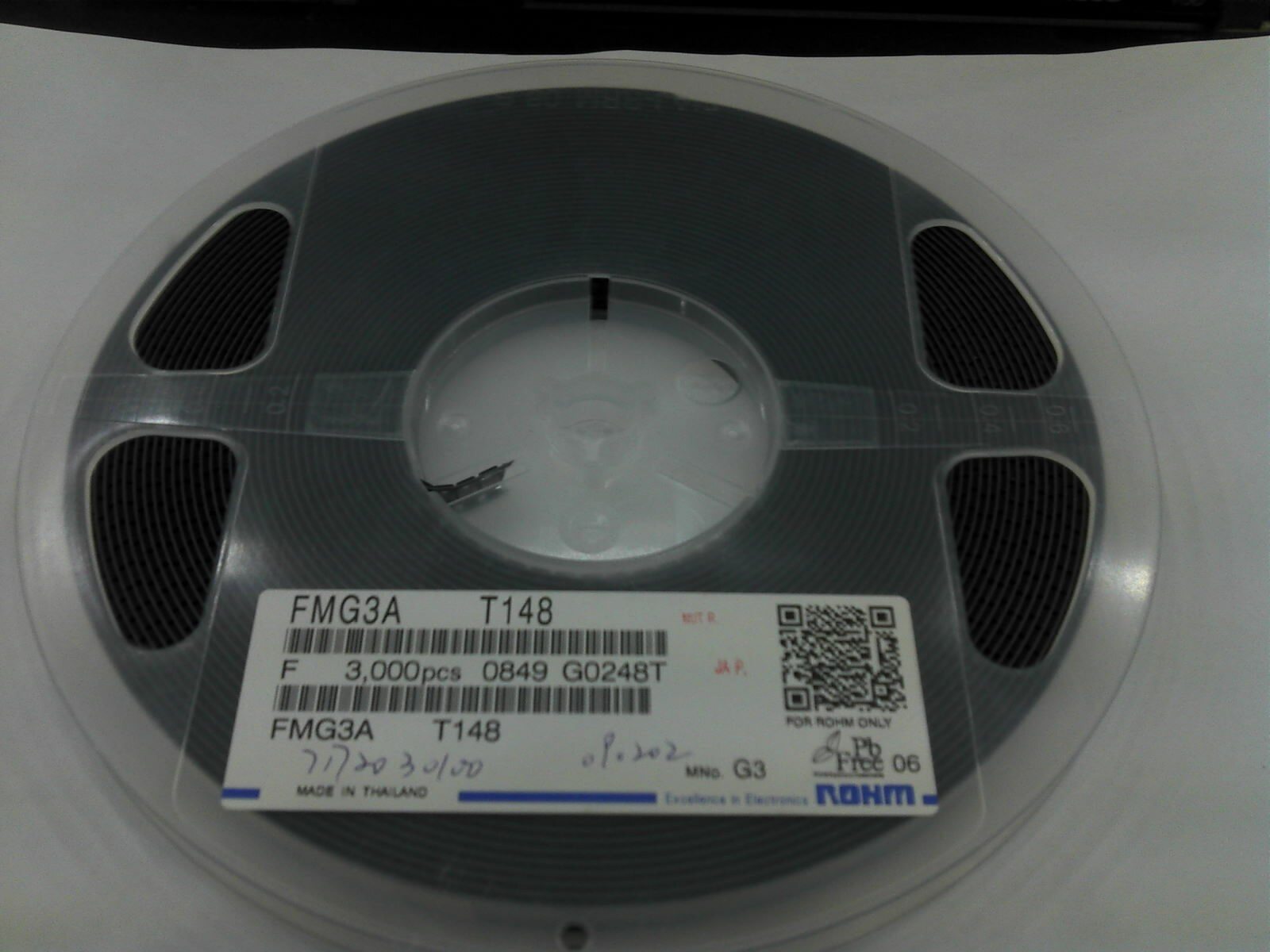 100 unids/lote Transistor de efecto de campo ROHM 2SK3018 2SC4617 Q SOT-23
