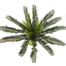 1 шт., искусственная жаба, Зеленый лист, растение, пластик, в горшках, бонсай, ветки, для сада, для дома, стола, свадьбы, украшения