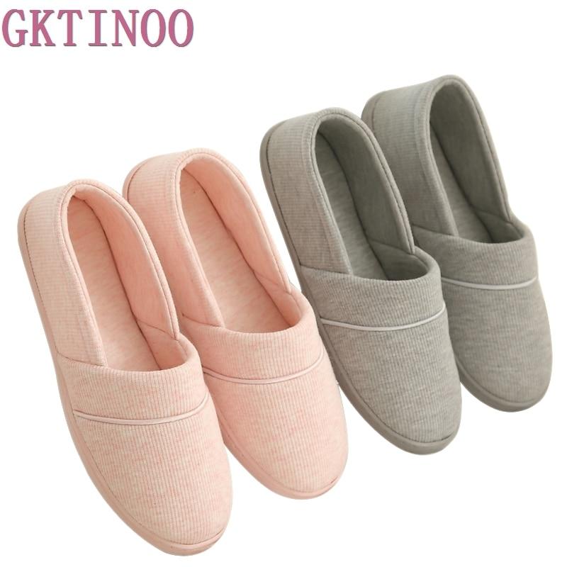 Inverno-outono em Casa Térmica de Algodão-acolchoado Chinelos de Algodão Chinelos de Interior com Sola Novo Feminino Macia Sapatos 2021