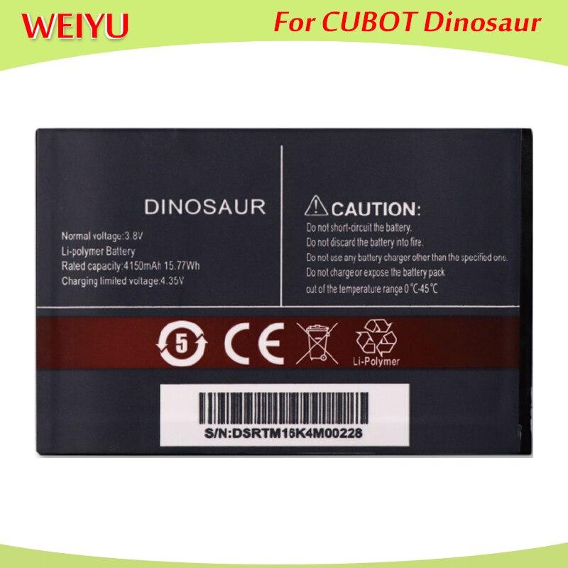 Para CUBOT Dinosaur batería acumulador para CUBOT Dinosaur teléfono móvil 4150mAh alta calidad