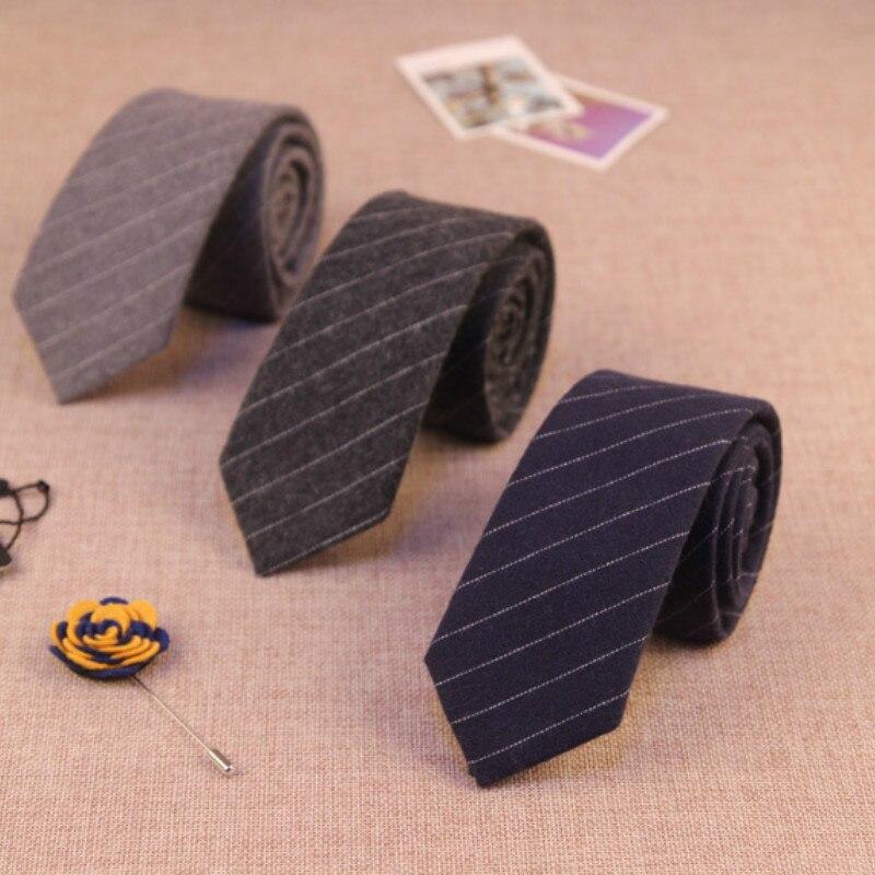 24 ألوان رجل مصمم الأزياء القطن الرقبة العلاقات نحيل ضئيلة 6 سنتيمتر منقوشة مخطط الأعمال gravatas للرجال ربطة العنق 100 قطعة/الوحدة فيديكس