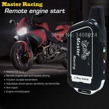 Sistema de alarma de motocicleta de dos vías, Scooter de 2 vías, alarma contra robos de Motor a distancia, arranque de Moto, alarma de seguridad, protección contra robos