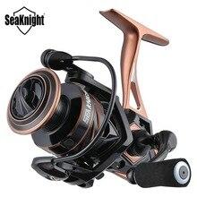 SeaKnight NAGA II moulinet de pêche 2000 2500 3000 4000 5000 filature 9 + 1BB 5.2 1 bobine en aluminium roue de carpe moulinet de rotation 9 KG-15 KG